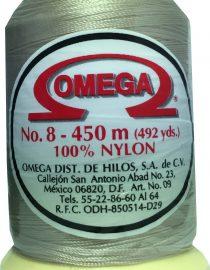 HILO NYLON OMEGA #8 450m CREMA C85