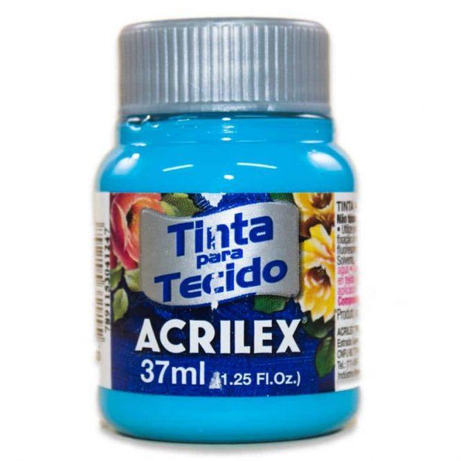 PINTURA ACRILEX MATE 37ML 503 AZUL CELESTE