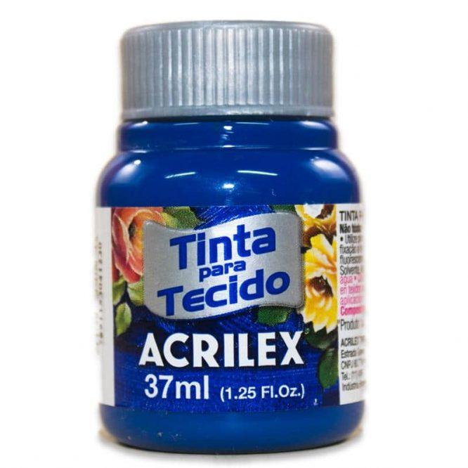 PINTURA ACRILEX MATE 37ML 502 AZUL COBALTO