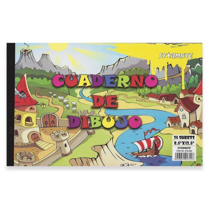 LIBRETA DE DIBUJO 35 HOJAS STR-3280