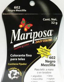 MARIPOSA CRISTALES NEGRO MEZCLILLA 602