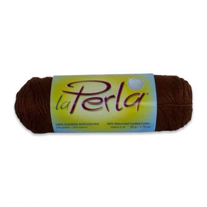 HILO LA PERLA #10 50GRS C603 CAFE